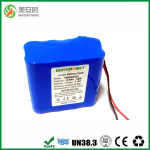 PVC Shrink Wrap Li-ion 18650 7.4V 8800mAh Battery