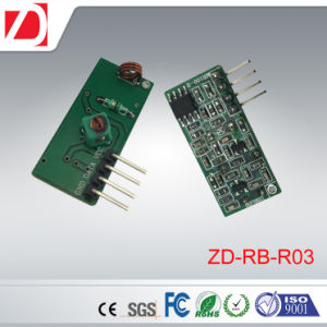 Receiver Board Remote Control Superregeneration Receiver Module 315/433MHz pictures & photos