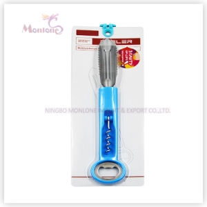 Multi-Function 3-in-1 Stainless Steel Peeler Wine Corkscrew Beer Bottle Opener pictures & photos