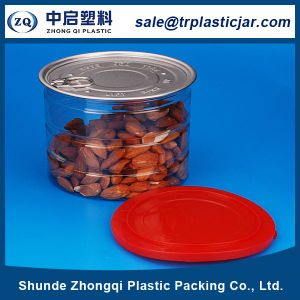 Pet Plastic Food Can with Aluminum Eoe Cover
