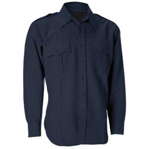 6a31baa34 China Men′s Navy Color Long Sleeve Security Guard Uniform Work Shirt ...