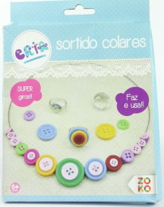 Kids Craft DIY Necklace and Ring Toy
