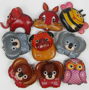 OEM Wholesale Lovely Leather Coin Purse pictures & photos