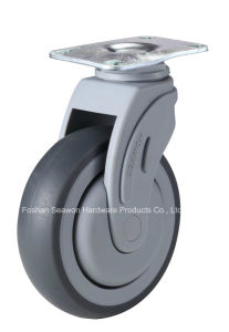 Swivel Plastic Medical TPR Caster pictures & photos