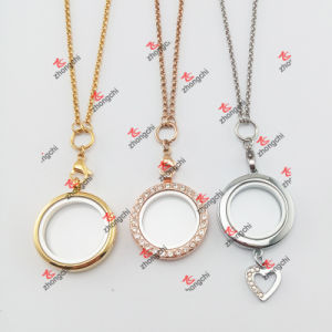 Fashion Lockets Charms Jewelry Match Chains Necklace (JCN60104)