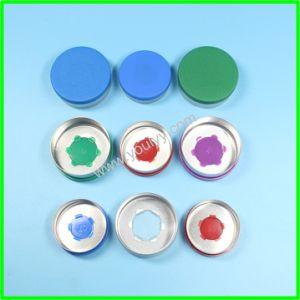 32mm Flip off Cap with Logo on The Plastic pictures & photos