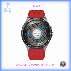 Multi-Function Kw88 GPS WiFi Fashion Clock Andriod Smart Sport Watch Smartwatch pictures & photos