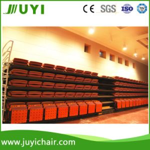 Jy-780 Comfortable Seat Telescopic Seating System with Soft Chair Bleachers pictures & photos