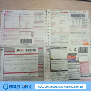Protected Thermal Paper for Logistic Use