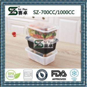 700cc Microwaveable&Freezer Plastic Food Storage Container pictures & photos