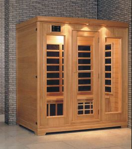 Solid Wood Infrared Sauna (AT-0926) pictures & photos