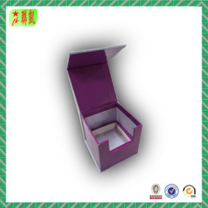 Custom Folding Magnet Paper Gift Box with Lid pictures & photos