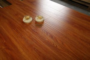 12mm Wood Pressed U-Groove Lamiante Floor pictures & photos