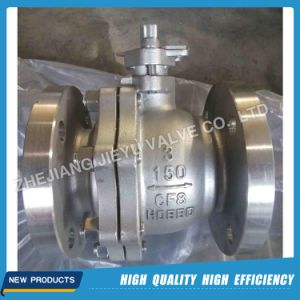 Stainless Steel CF8m Pn16 Dn80 Ball Valve pictures & photos