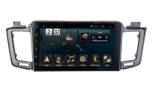 Android 6.0 System Car GPS Navigation for Toyota RAV4 10.1 Inch Touch Screen with Bluetooth/MP3/MP4