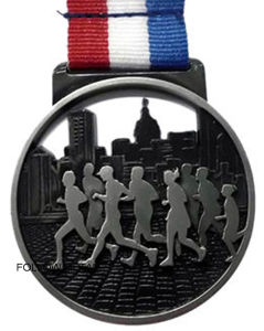 Marathon Medal with Running Race Decoration, Gift, Sport Toy