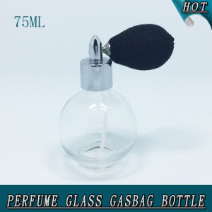 75ml Sphere Gasbag Spray Pump Screw Cap Glass Perfume Bottle pictures & photos