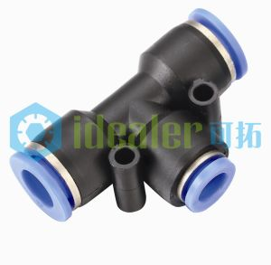 High Quality Pneumatic Pipe Fitting with CE (PGT3/8-5/16)