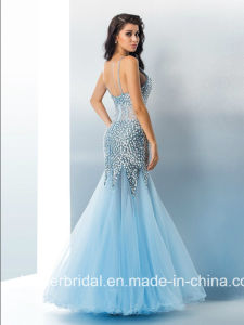 Crystals Party Prom Cocktail Gown Beading Evening Dress L1729 pictures & photos