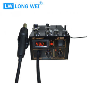 Lw850d ESD Safe Premium Digital Hot Air Gun with Soldering Station pictures & photos