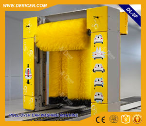 Dericen Dl5f Rollover Automatice Car Wash Machine with 5 Brushes and Dry Function