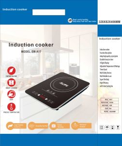 120V Titanium Glass Sensor Touch 1800W ETL Certificate Ultra Thin Induction Cooker pictures & photos