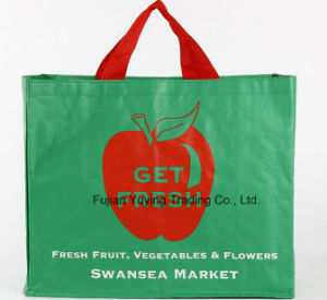 PP Fabric Handle Bag with Customized Pringting