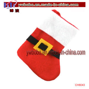 Christmas Product Santa Sack Stocking Bag Best Promotional Items (CH8043) pictures & photos