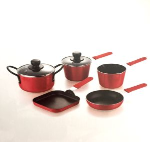 Stamping Mini Non-Stick Coating Aluminium Cookware A1005 pictures & photos