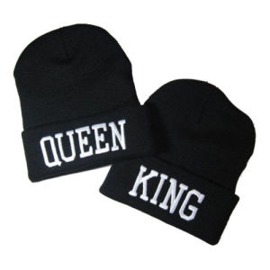 Hip Hop Winter Black Knitted Hat Beanies (A721)