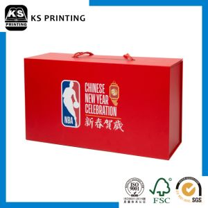 High Quality Customized Red Packaging Shoebox