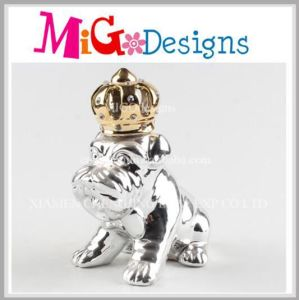 Handmade Lovely Design Ceramic Dog Money Bank pictures & photos