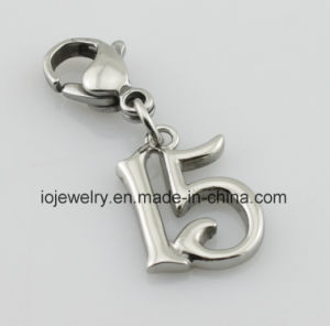 Fashion Accessory Number Charm Metal Key Chain pictures & photos
