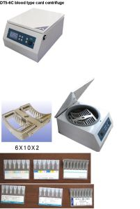 Blood Type Card Centrifuge (DT5-6C) pictures & photos