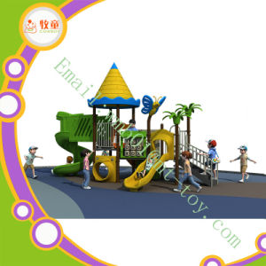 Plastic Outdoor School Playground Slide for Kids pictures & photos