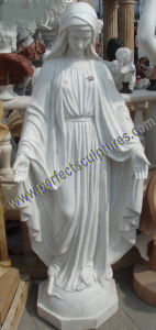 Carving Stone Marble Virgin Mary Statue for Religious Sculpture (SY-X1627) pictures & photos