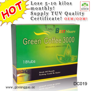 Weight Loss and Health Food Green Coffee 3000, Dietary Supplement