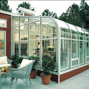 Energy-Saving Insulated Glass Sunroom pictures & photos