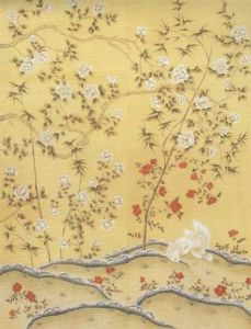 Hand Painted Silk Wallpaper Wallcoverings