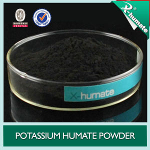 Organic Fertlizer 70%Min Water Soluble Potassium Humate Powder pictures & photos