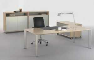 MFC Wooden Furniture Manager Table Office Table (DA-142)