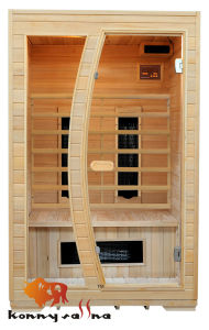 Wooden Indoor Far Infrared Ceramic Heater Sauna Room (KL-2LE)