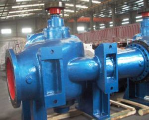 Sla Type Single Stage Double Suction Split Casting Volute Vertical Centrifugal Water Pump pictures & photos