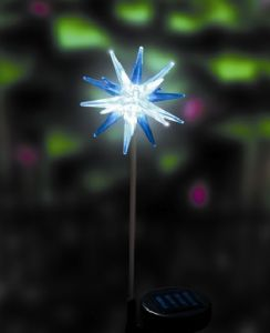 solar christmas light icicle star model sdl 1027