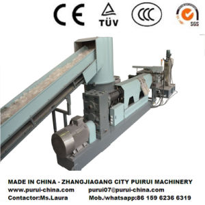 Single Screw Plastic Extrusion Machine for PP Film Plastic Granulating pictures & photos