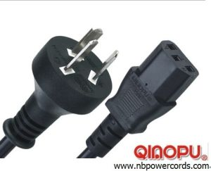 Argentina Power Cord with Computer Connector (D11/QT3)