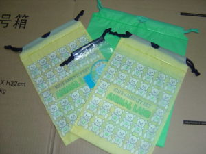Plastic Drawstring Bag, String Bag pictures & photos