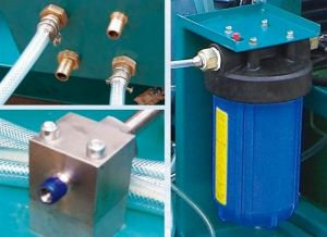 Water Jet Machines---Three Plunger Pump Uhp Waterjet Cleaning System pictures & photos