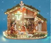 Fiber Optic Nativity (13414)