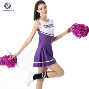 3021978c489 Wholesale Polyester Dance Uniforms Custom Sublimated Cheerleading Uniforms